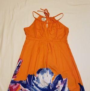 Sz 10 Ice Dress Orange